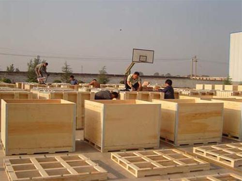 金湖实木木箱