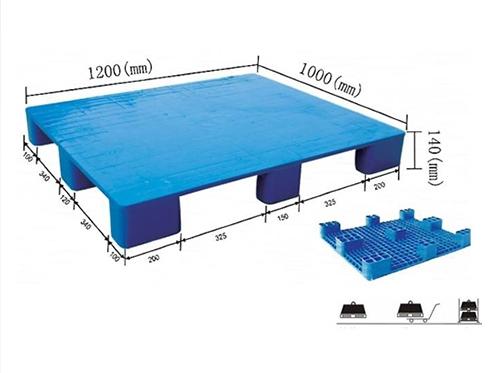 九角平板塑料托盘 SL1